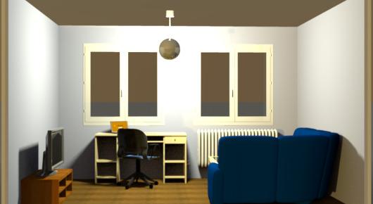Hängelampe Wohnzimmer   Beispiel Für Eine Beleuchtung Im Wohnzimmer